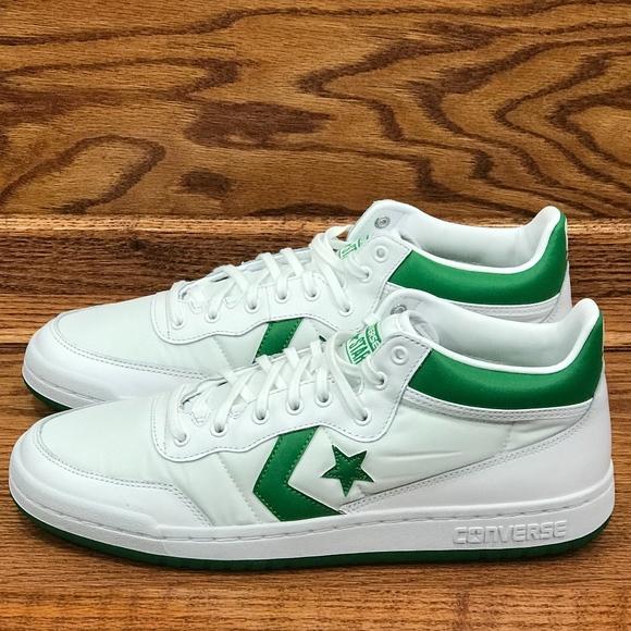84ec4336f440a1 Converse Fastbreak 83 Mid White Green White